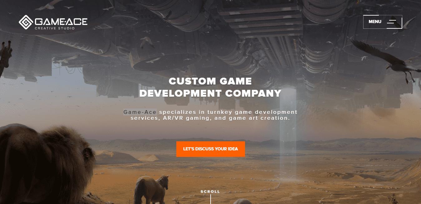 Best Game Developer Website for Game-Ace Creative Studio