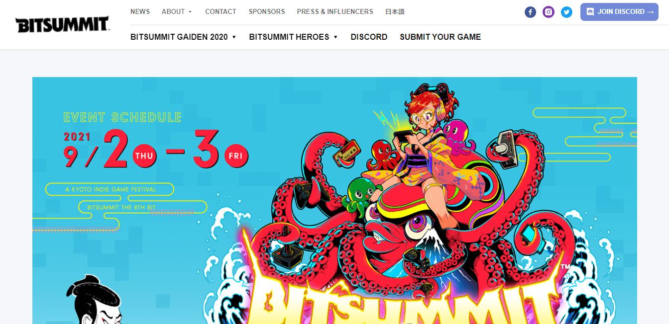 Best Game Developer Website for BitSummit