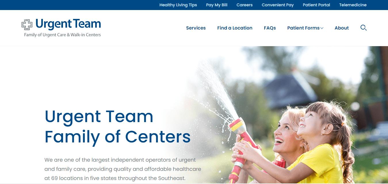 Best Health Care Website for Urgent Team