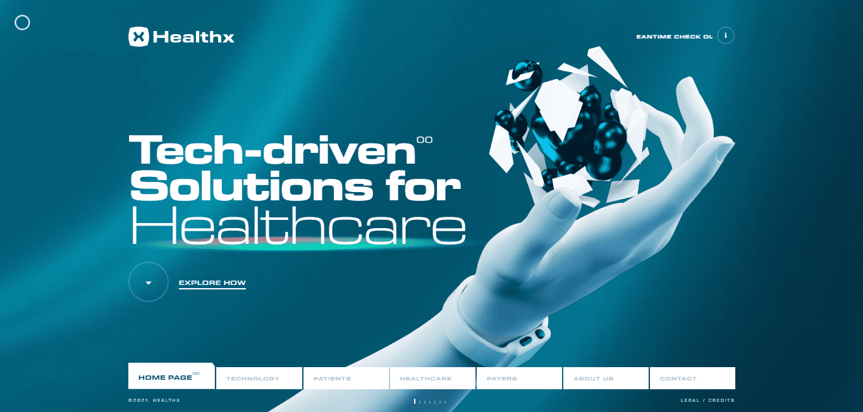 Best Health Care Website for HealthX