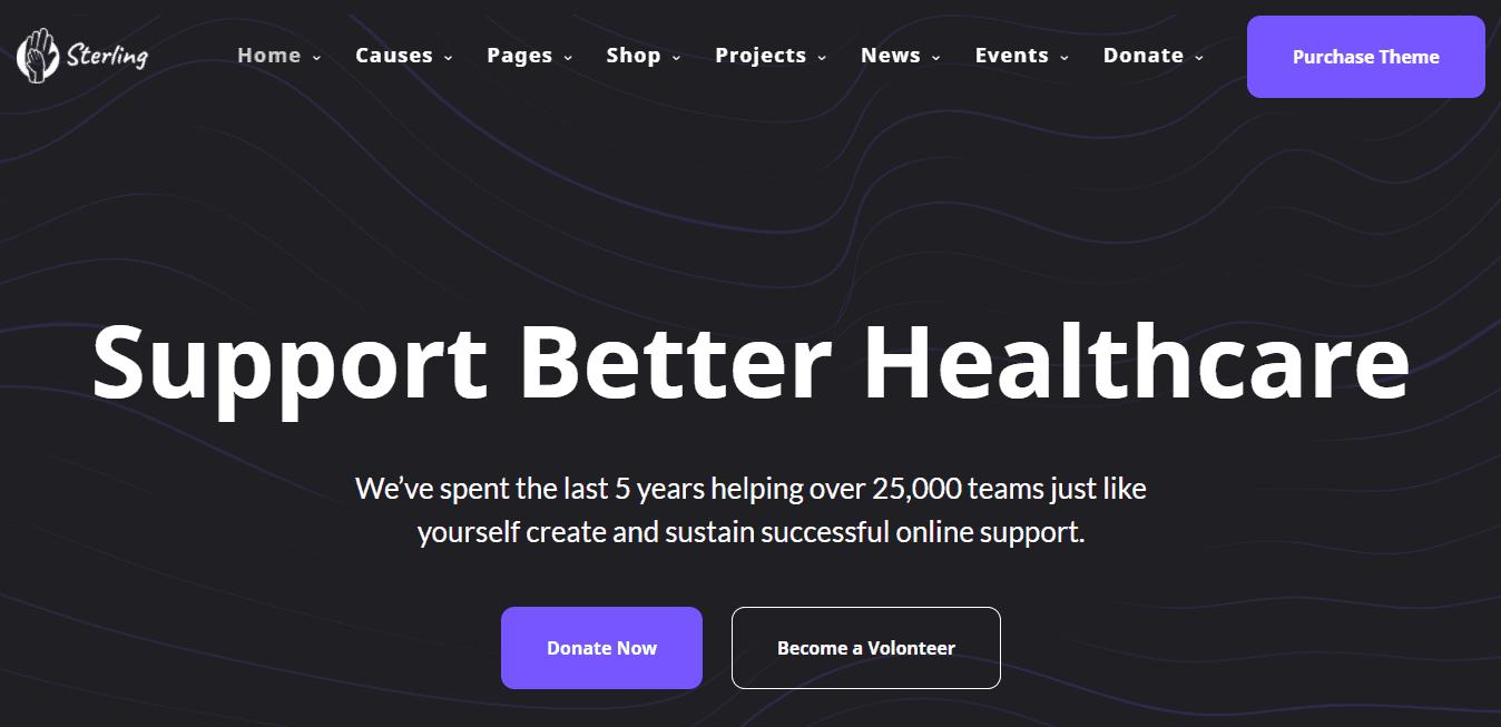 Best Health Care Website for Sterling Healthcare
