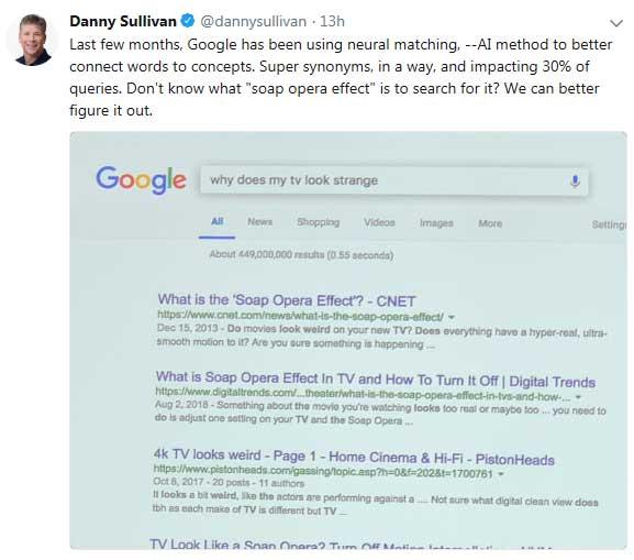 danny-sullivan-tweet-neural matching