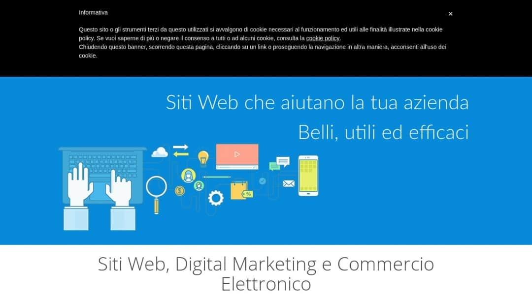 Screenshot of Fabio Schenone's Website