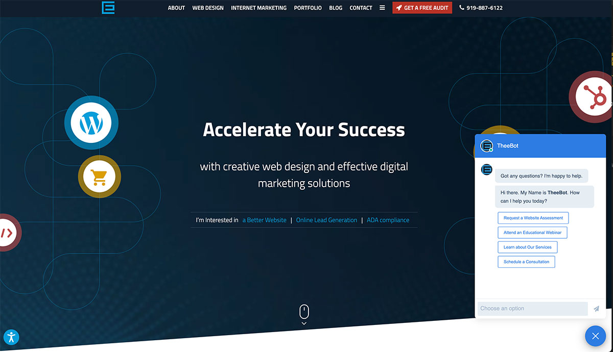 Ecommerce Web Design Trends for 2022 | Chatbots