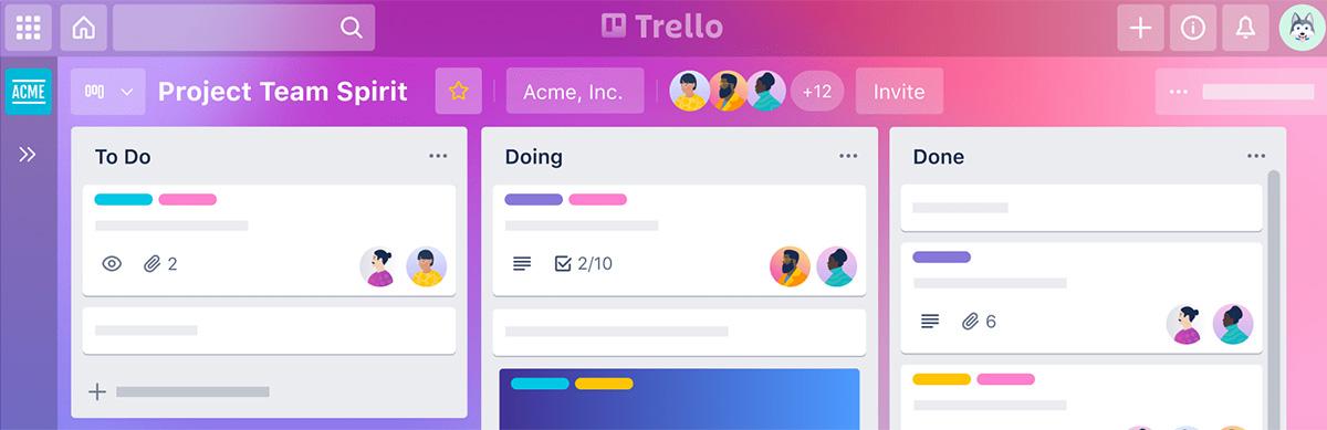 Essential Web Design Tools Trello