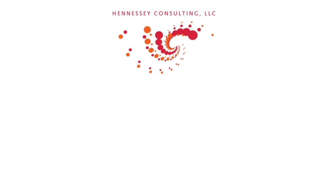 Screenshot of Hennessey Consulting's Website