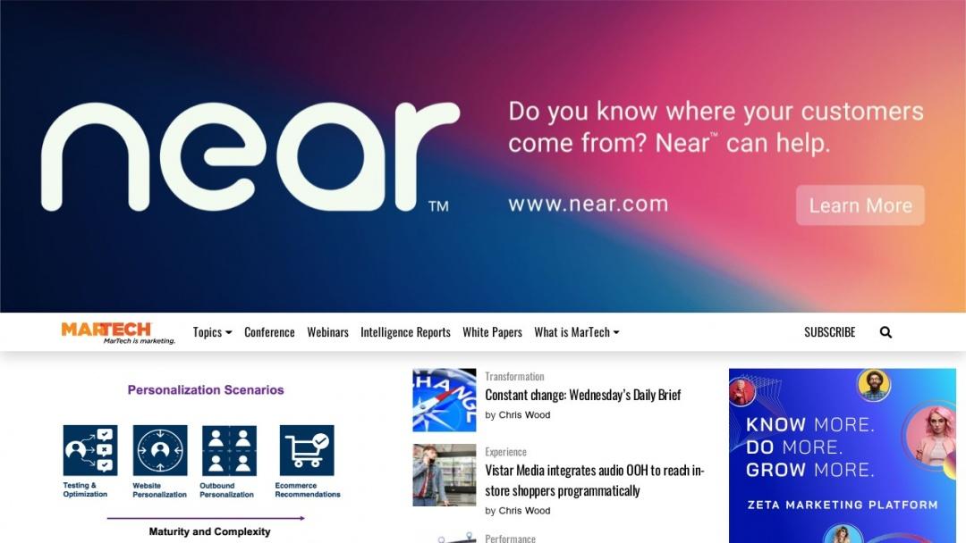 Screenshot of Local Search Association's's Website
