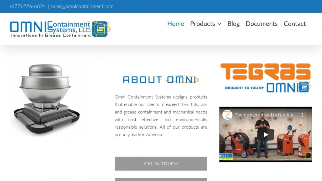 Screenshot of Omni Marketing Interactive's Website