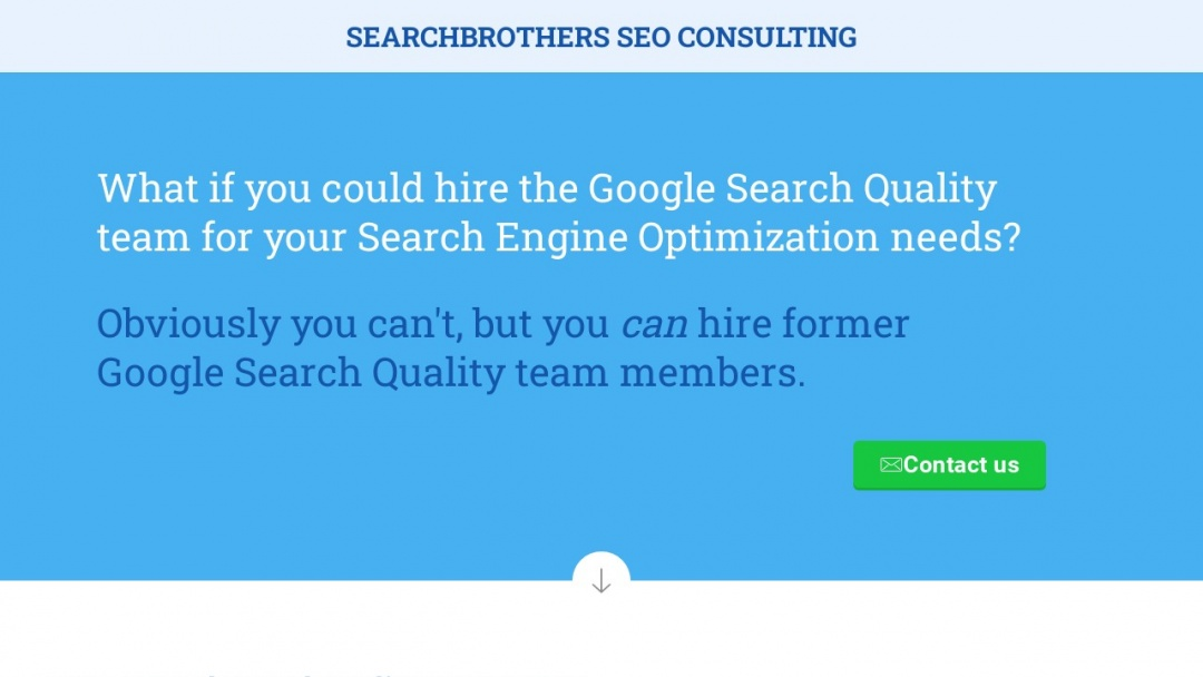 Screenshot of SearchBrothers's Website