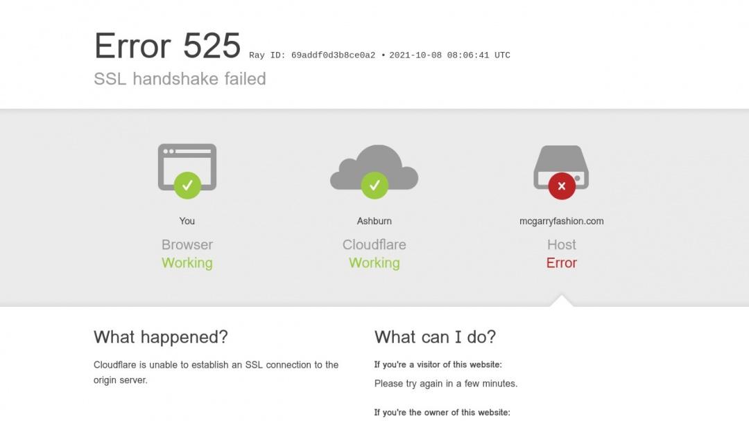 Screenshot of The McGarry Agency's Website