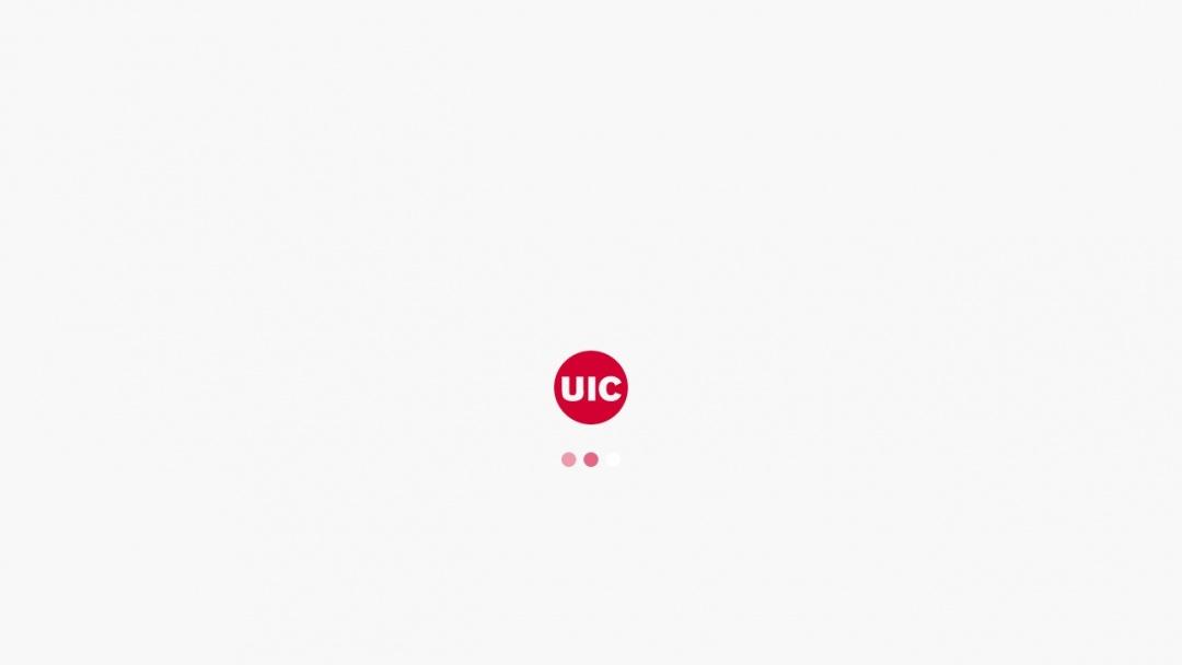 Screenshot of University of Illinois at Chicago's Website