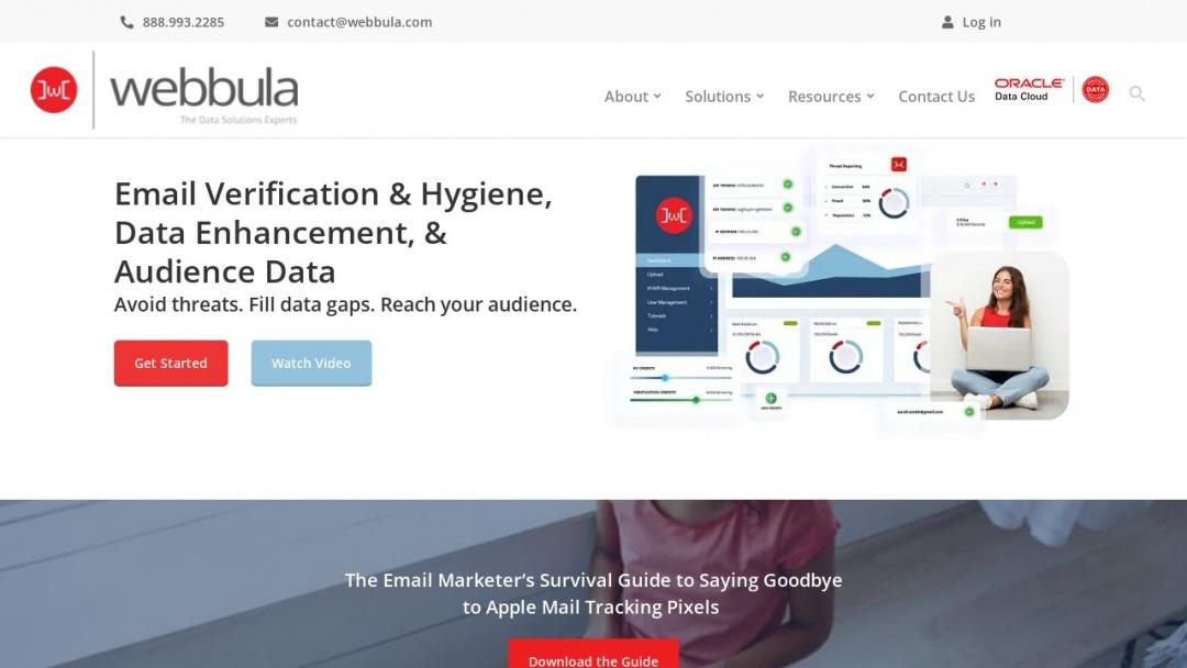 Screenshot of VP Growth and Engagement,Third Door Media's Website