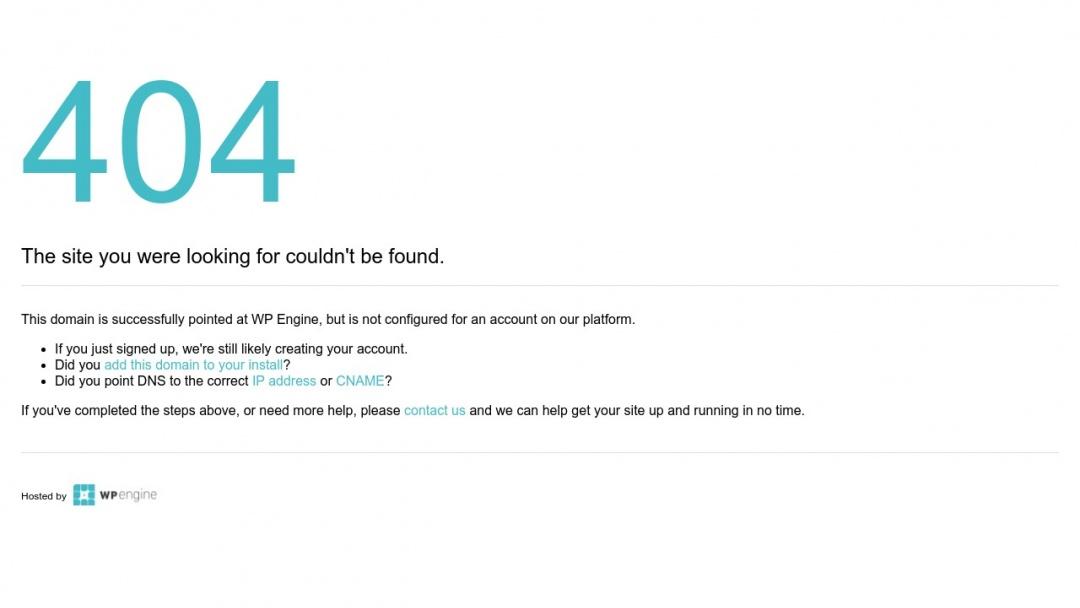 Screenshot of WP Design's Website